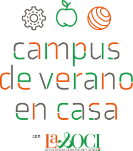 cartel de campus de verano en casa